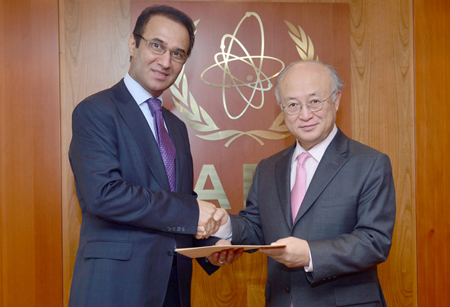 Afghanistan Ambassador Presents his credential to IAEA