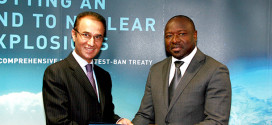 H.E. Ayoob Erfani Presents his credential to CTBTO