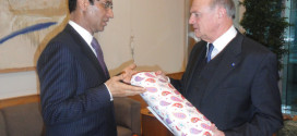 Ambassador Ayoob Erfani's meeting with the Governor of Lower Austria,  H.E. Dr. Erwin Proell