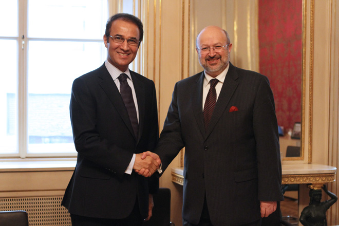 Ambassador Ayoob M. Erfani and H.E. Lamberto Zannier, Secretary General of the OSCE