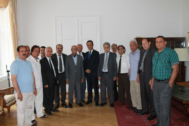 The Embassy & Permanent Mission of Afghanistan host a memorial ceremony and Khatme-e-Quran to honor the victims of the Paktika province terrorist attack
