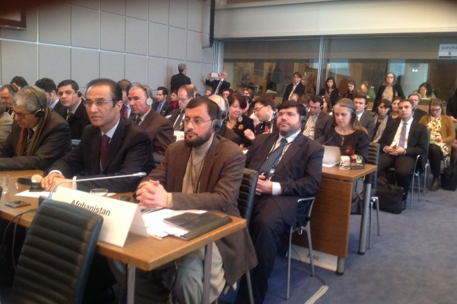 MPs from Afghanistan participate in the OSCE Parliamentary Assembly