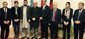 H.E. Ambassador Ayoob Erfani and the Permanent Mission are awarded medals by Parliamentary Delegation