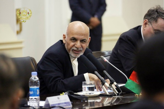 Transcript of Remarks Delivered by President Ghani at the Meeting of the International Contact Group